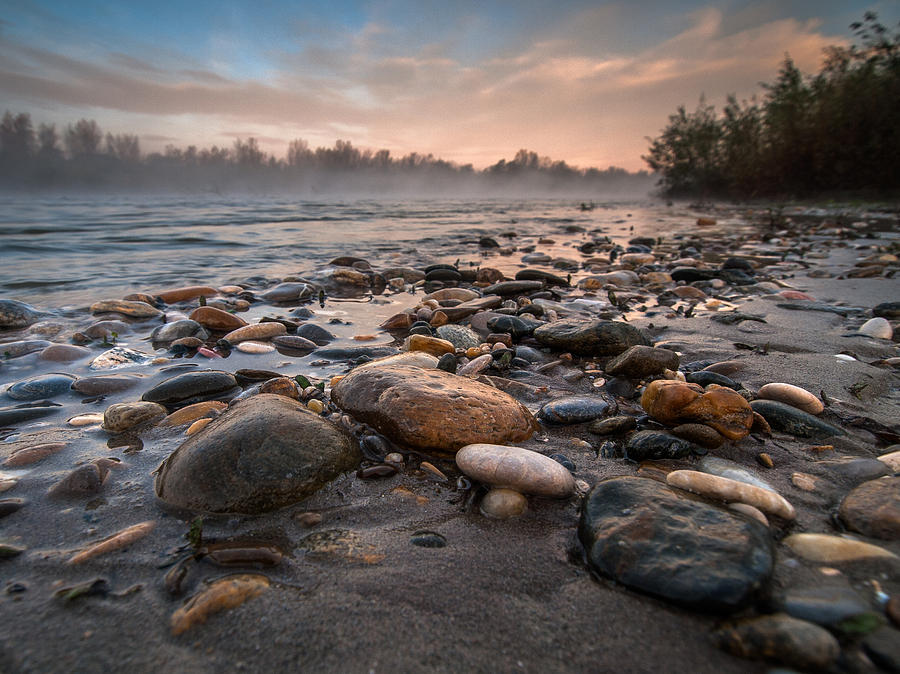 Landscape Photograph - Pebbles by Davorin Mance