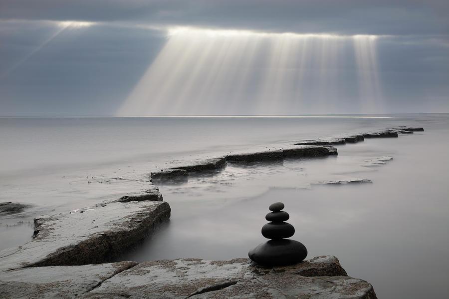 Pebbles, Kimmeridge Bay, Dorset, Uk Photograph by Travelpix Ltd