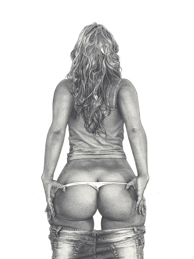 Beyonce booty drawings naked