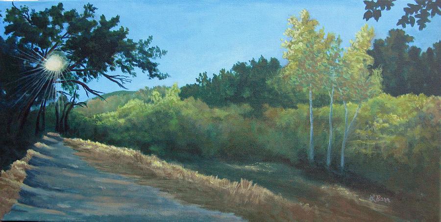 Peeking Through Placerita Canyon  by Lisa Barr