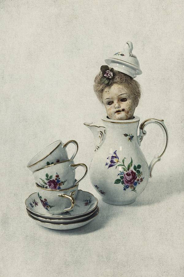 Cup Photograph - Peep-bo by Joana Kruse