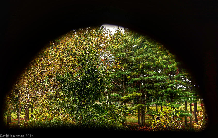 Agriculture Photograph - Peephole by Kathi Isserman