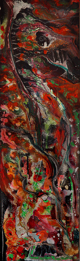 Abstract Painting - Pegasus by Dan Cope