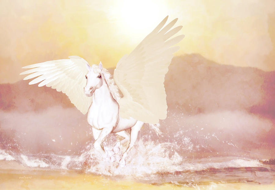 Pegasus   by Valerie Anne Kelly