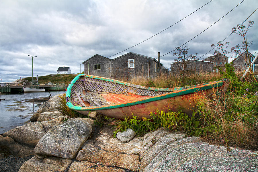 Peggy's Photograph - Peggys Cove 13 by Betsy Knapp
