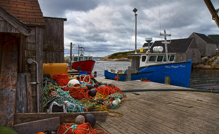 Peggy Photograph - Peggys Cove 18 by Betsy Knapp