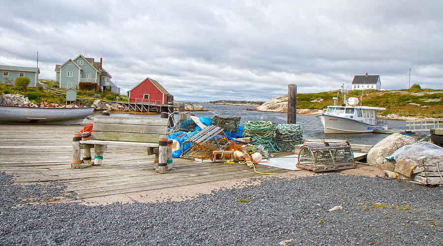 Peggy's Photograph - Peggys Cove 2 by Betsy Knapp