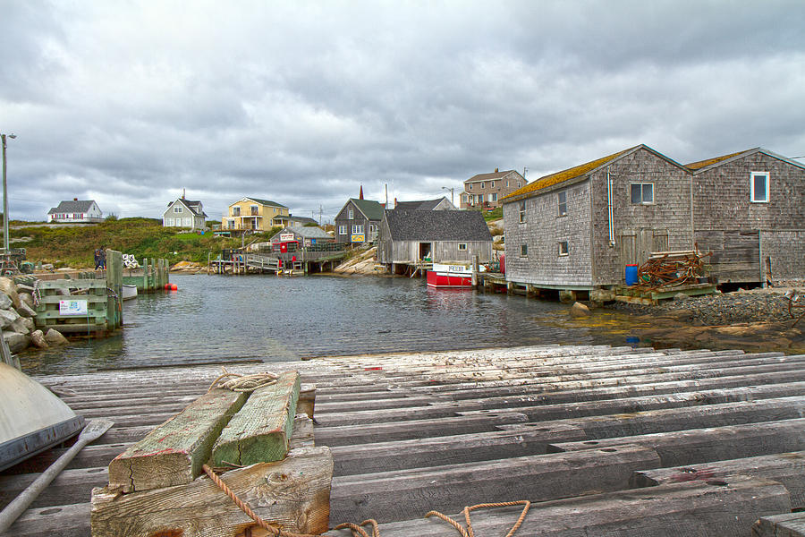 Peggy's Photograph - Peggys Cove 9 by Betsy Knapp
