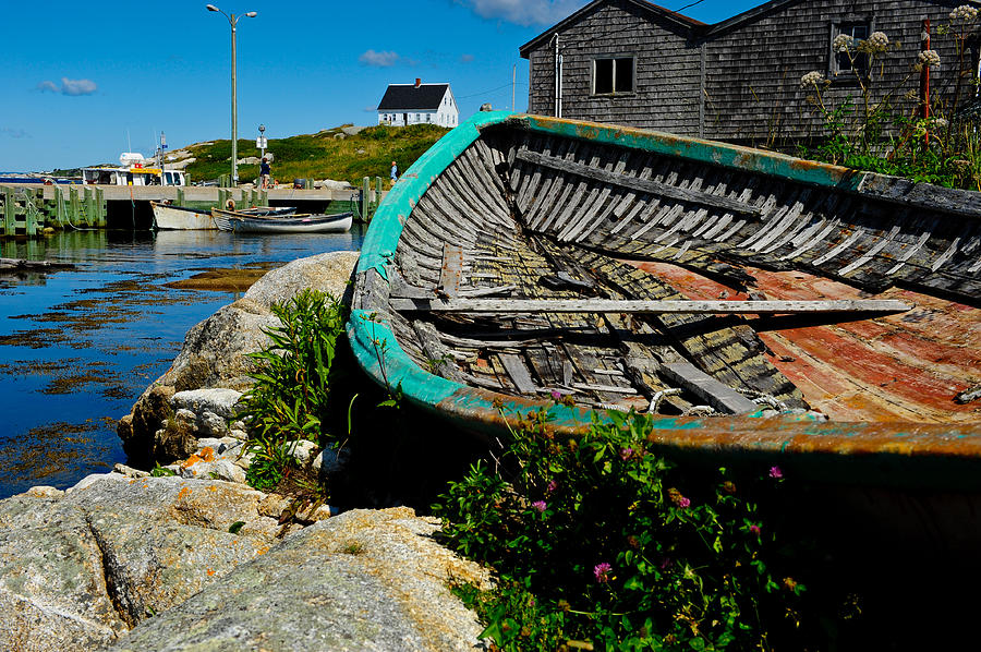 Canada Photograph - Peggys Cove by Don and Bonnie Fink