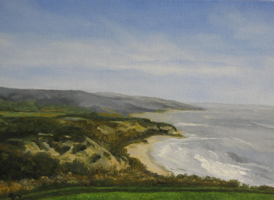 Newport Beach Painting - Pelican Crest by Terry Sonntag