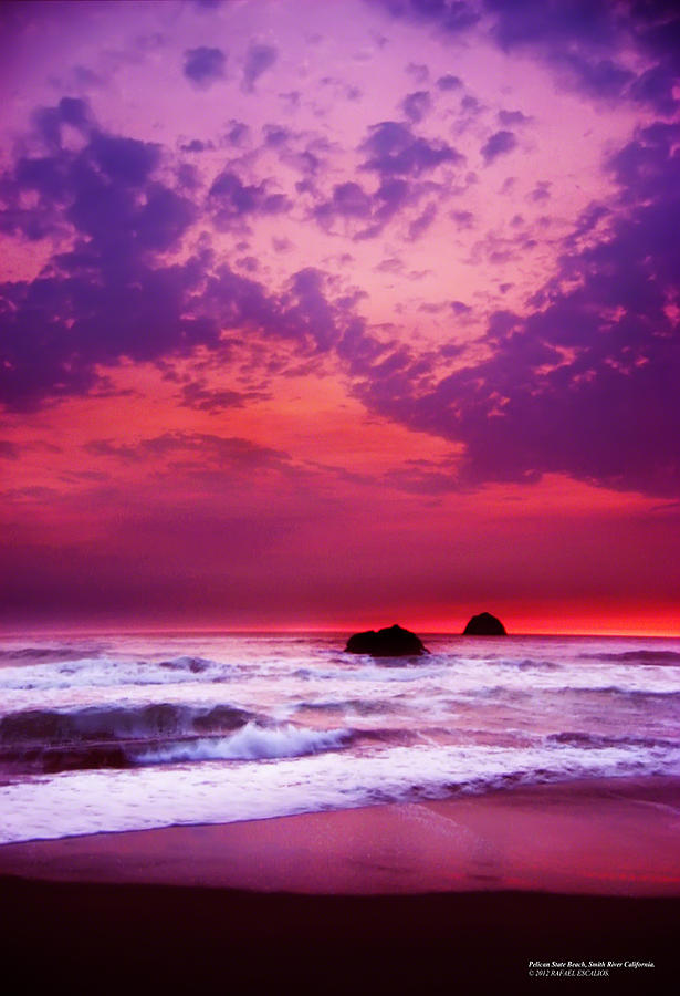 Beaches Photograph - Pelican State Beach California 02 by Rafael Escalios