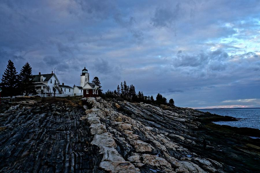 Lighthouse Photograph - Pemaquid Lighthouse by Melissa C