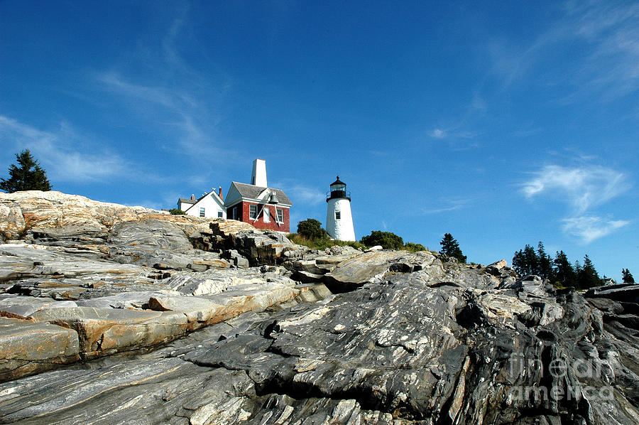 Maine Photograph - Pemaquid Point by Alan Russo