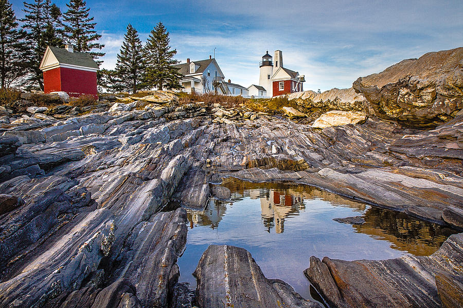 Pemaquid Reflection by Robert Clifford
