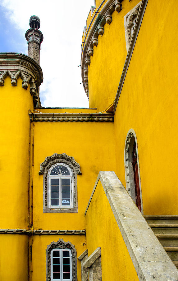 Pena Palace In Portugal Photograph