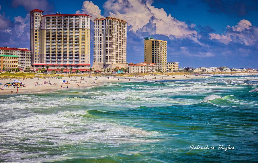 Penacola Beach by Deborah Hughes