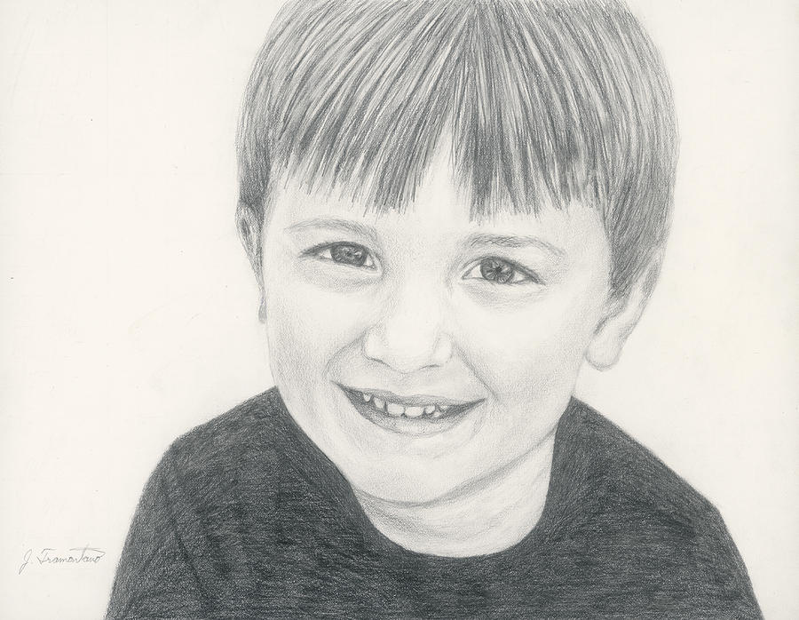 Pencil Portrait by Jeannette Tramontano