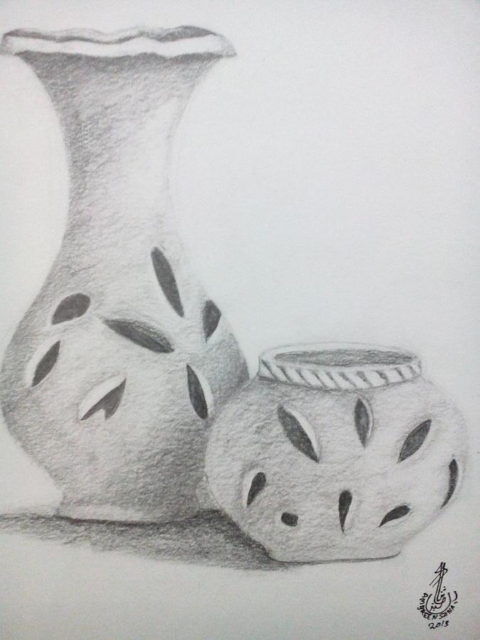 Pencil Shading Drawing By Ambren Sana