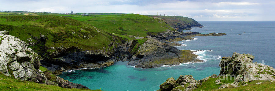 Levant Photograph - Pendeen Watch To Levant by Terri Waters