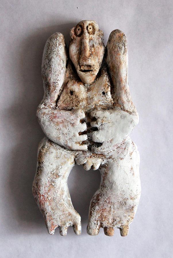 Plaster Sculpture - Pendulus No. 2 by Mark M  Mellon