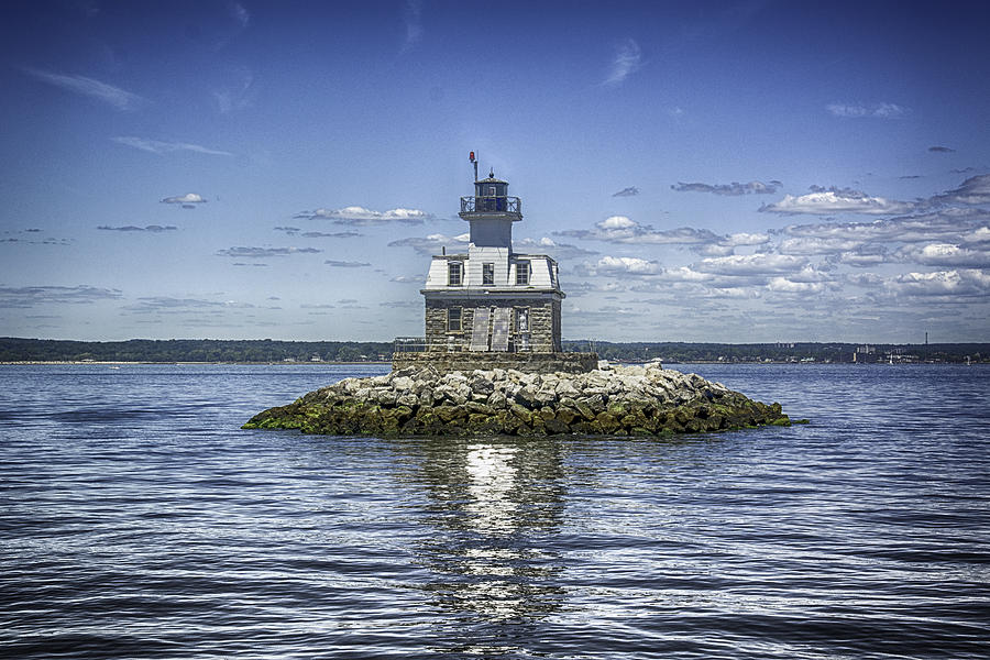 Penfield Reef Lighthouse Long Island Sound Connecticut