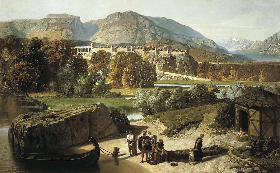 Horizontal Photograph - Penguilly-lharidon, Octave 1811-1870 by Everett