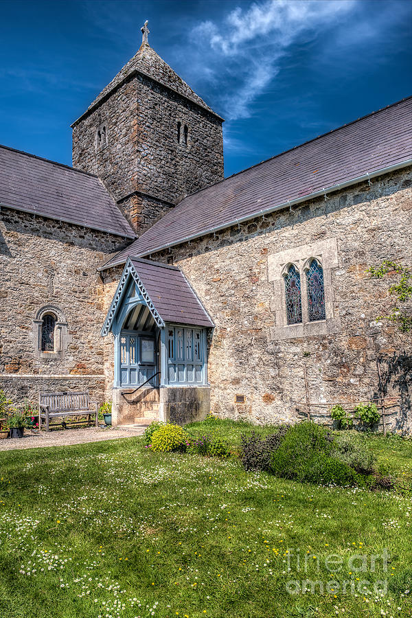 Anglesey Photograph - Penmon Priory by Adrian Evans