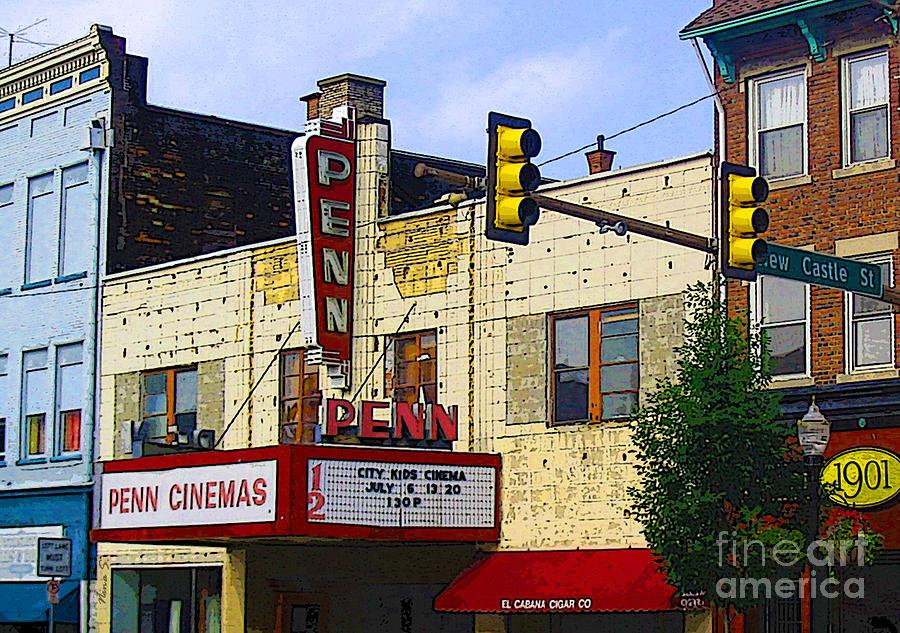 Marquees Photograph - Penn Cinemas In Ohiopyle by Nina Silver