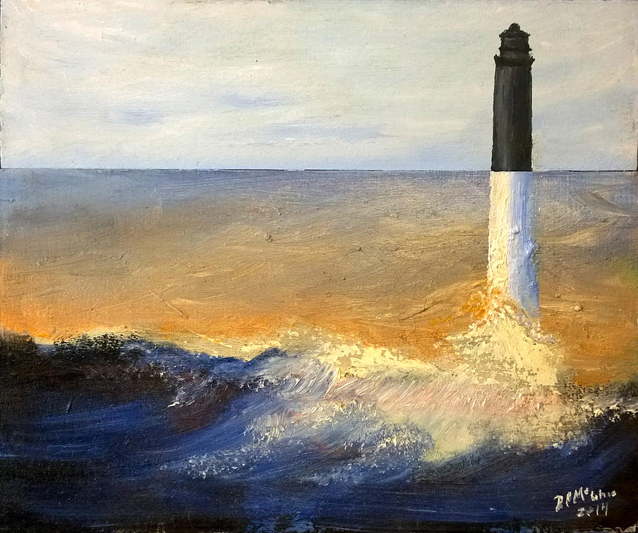 Pensacola Painting - Pensacola Lighthouse by David McGhee