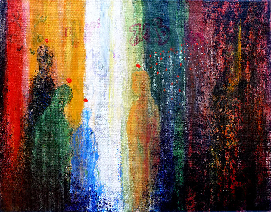 Abstract Painting - Pentecost by Jim Whalen