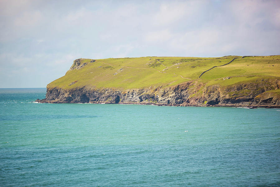 Pentire Headland Photograph by Olivia Bell Photography