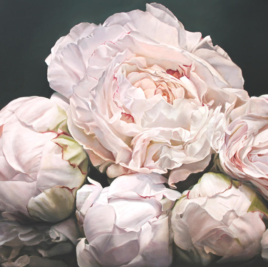 Peonies I Painting By Thomas Darnell