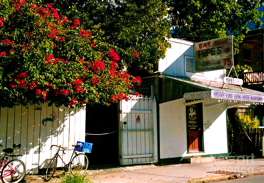 Pepes Photograph - Pepes In Key West Florida by Susanne Van Hulst