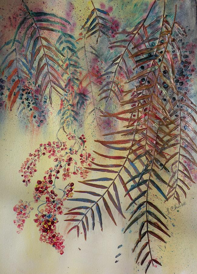 Nature Painting - Pepper Tree by Lori Chase