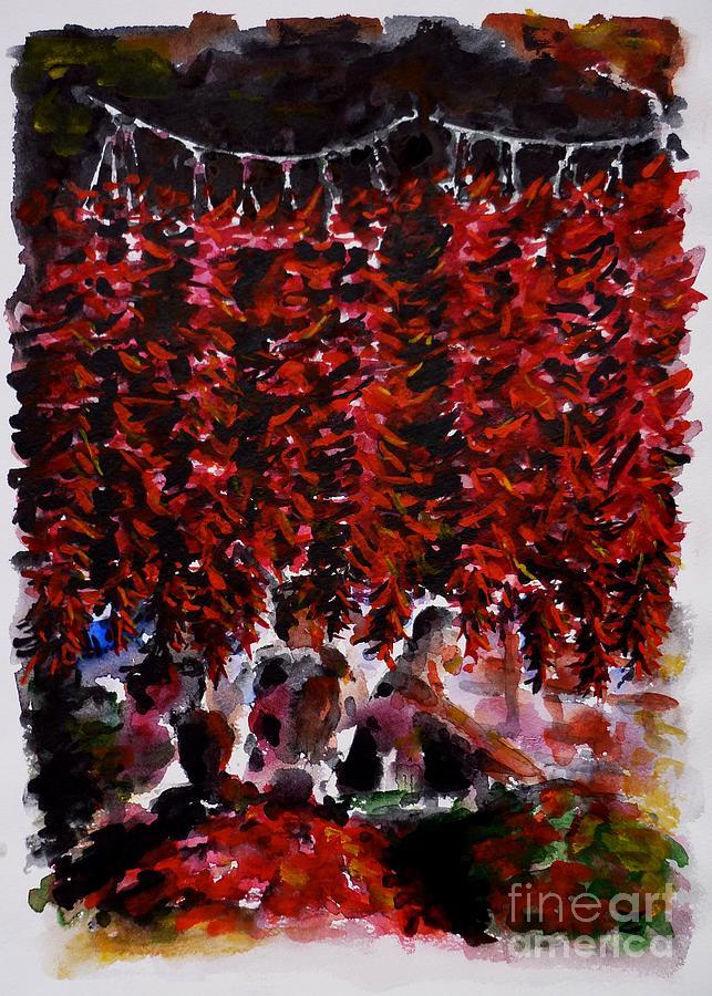 Pepper Painting - Pepper by Zaira Dzhaubaeva