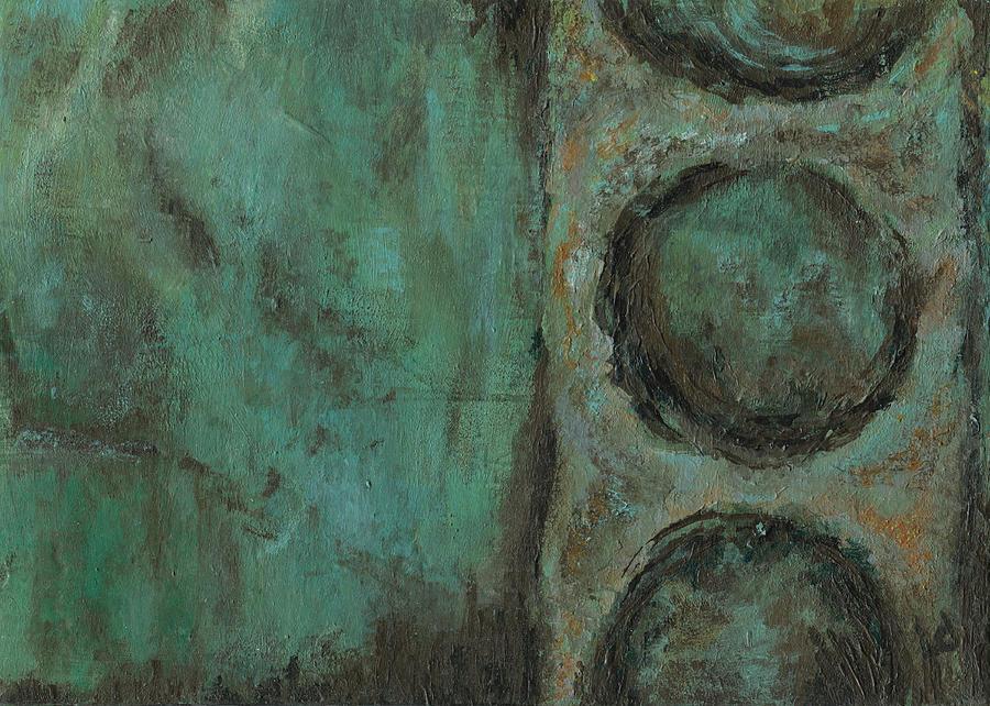 Dark Painting - Pepperland Laid Waste by Logan Hoyt Davis