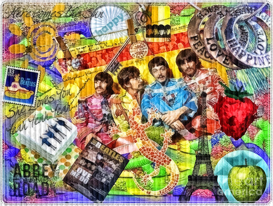 Pepperland Painting - Pepperland by Mo T