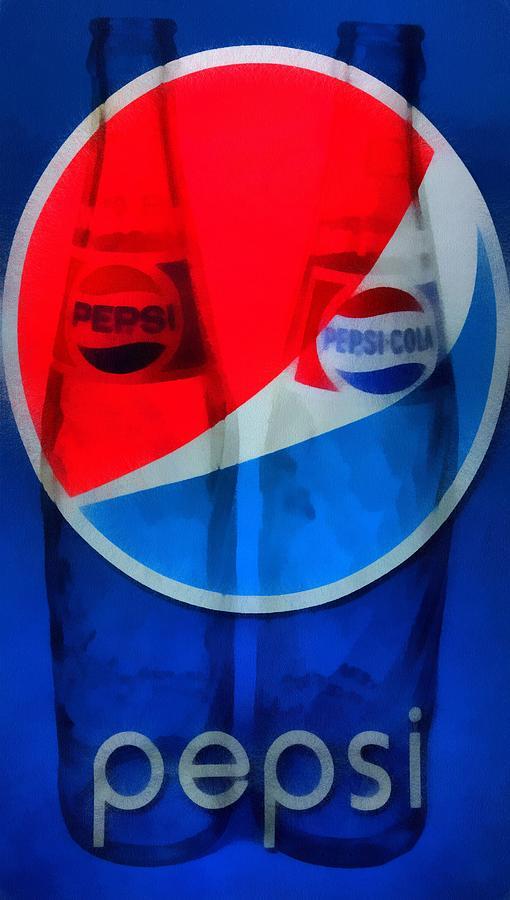 Pepsi Cola Painting - Pepsi Cola by Dan Sproul
