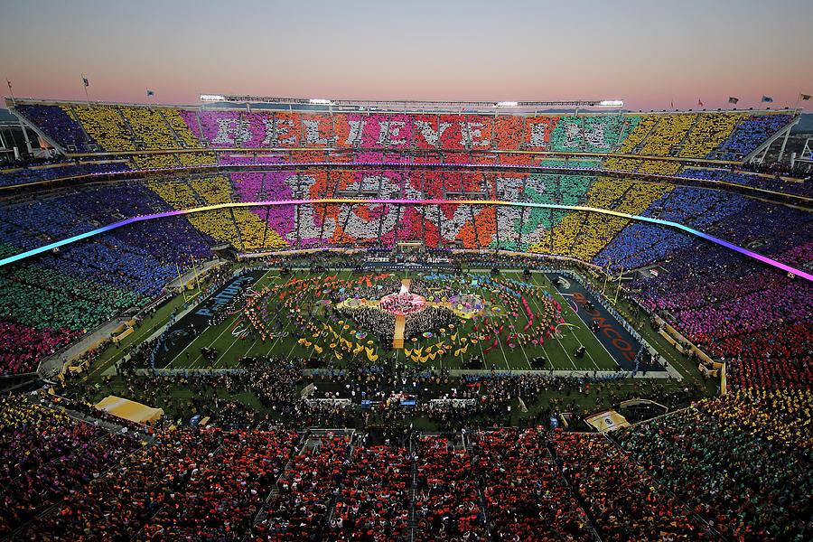 Pepsi Super Bowl 50 Halftime Show Photograph by Ezra Shaw