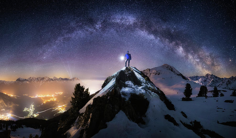 Stars Photograph - Per Aspera Ad Astra by Dr. Nicholas Roemmelt