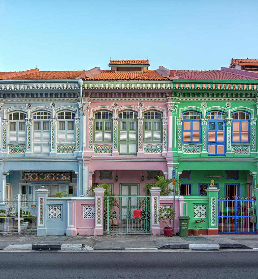 Peranakan Architecture Photograph by Edward Tian