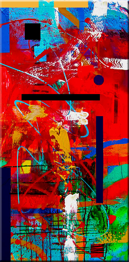 Abstract Painting Painting - Perfect Balance by Dora Woodrum