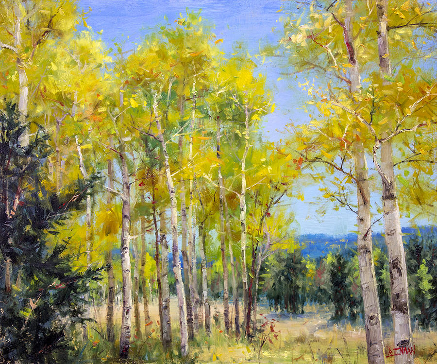 Beautiful Painting - Perfect Day For A Hike by Bill Inman
