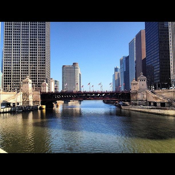 Perfect Day In Chicago! Photograph by Mike Maher