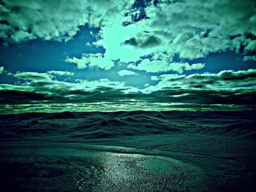 Green Colors Digital Art - Perfect Day. by Ruben  Llano