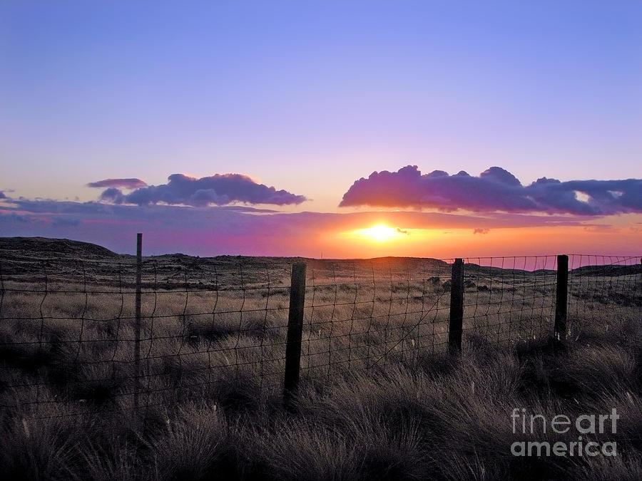 Sunset Photograph - Perfect Ending by Ellen Cotton