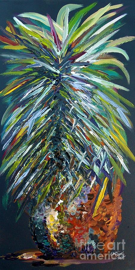Pineapple Painting - Perfect Pineapple by Eloise Schneider