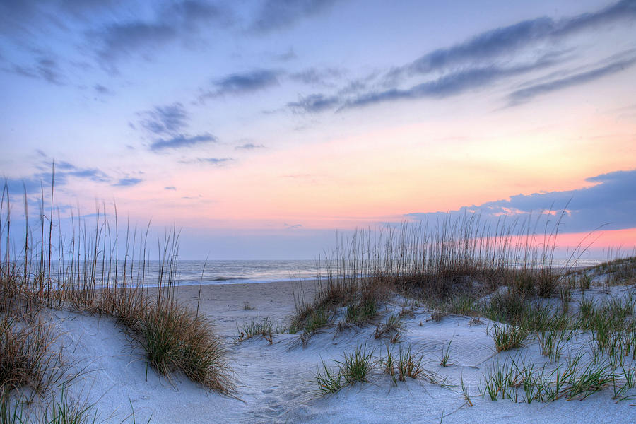 Caswell Beach Photograph - Perfect Skies by JC Findley