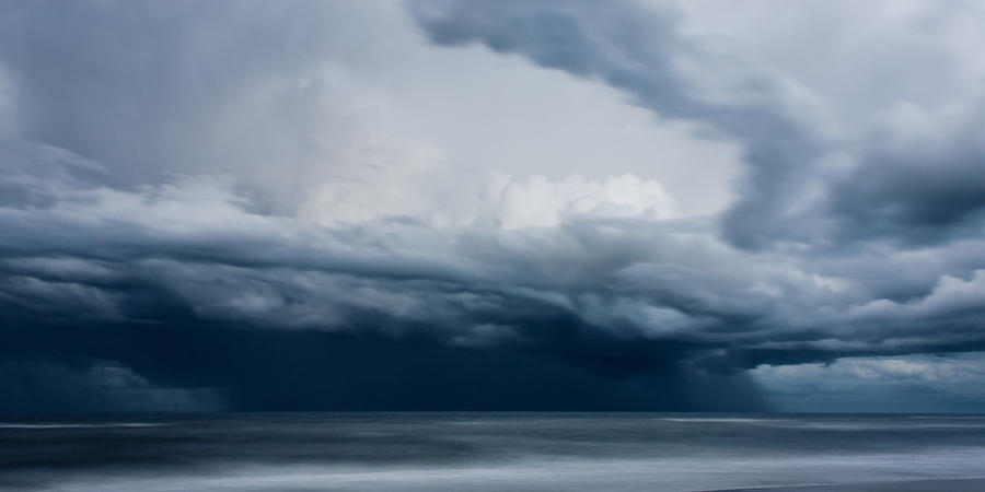 Motion Blur Photograph - Perfect Storm by Matt Dobson