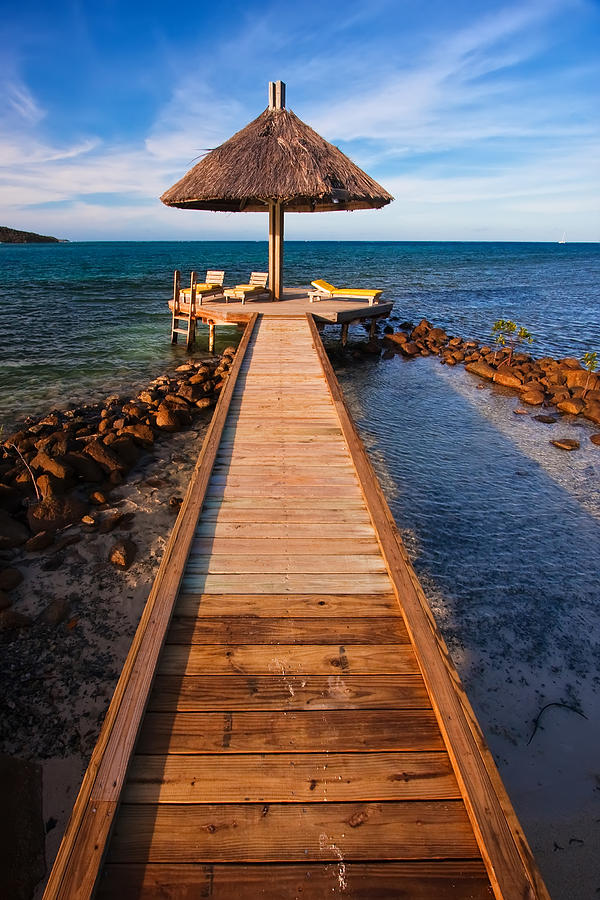 3scape Photos Photograph - Perfect Vacation by Adam Romanowicz